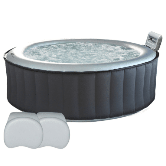Spa rond gonflable Silver Cloud 6 places