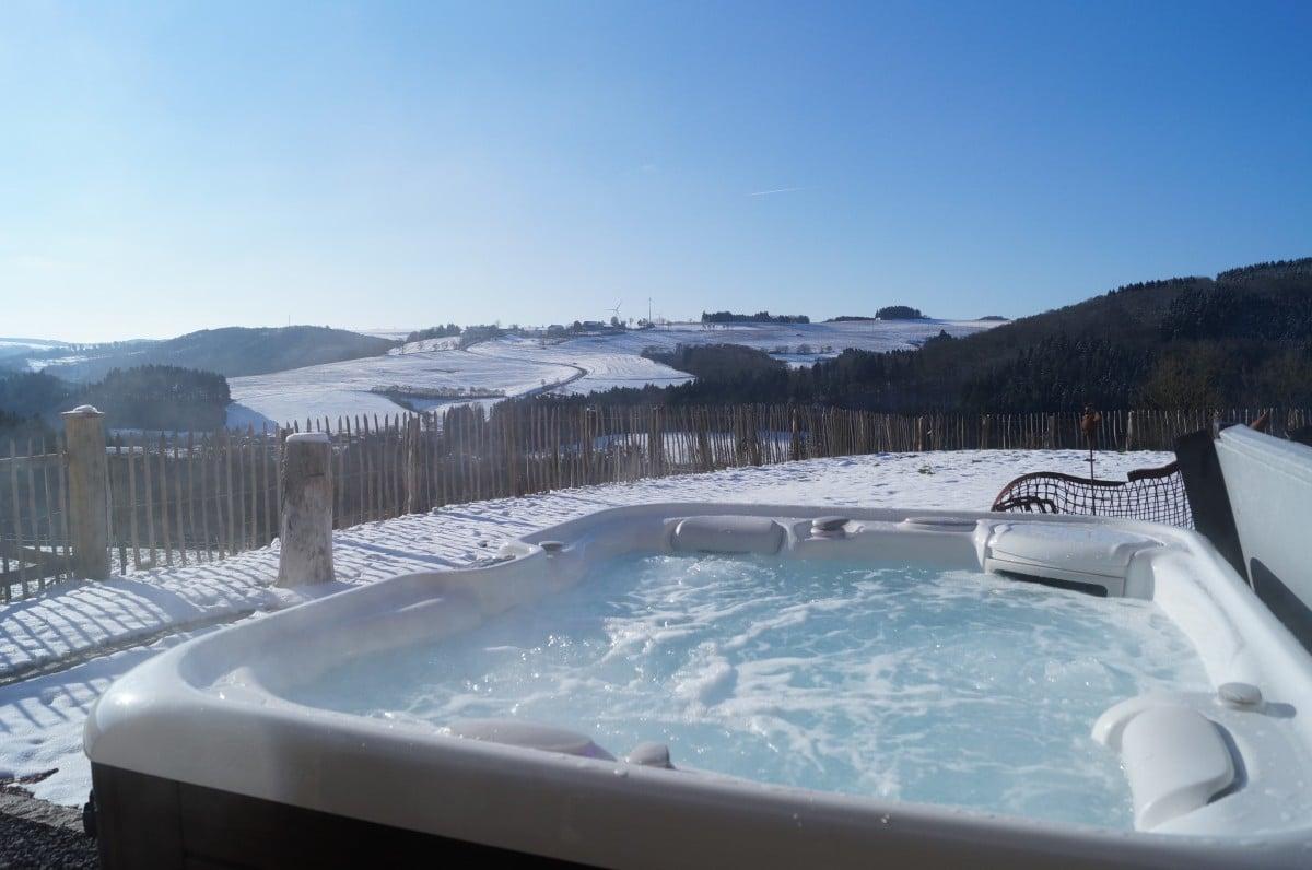 3 avantages d 39 un spa de nage eau et confort. Black Bedroom Furniture Sets. Home Design Ideas