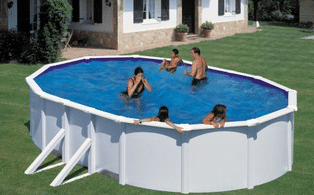 Choisir piscine hors-sol en acier